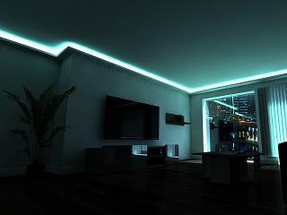 Led Licht Trend Der Heutigen Deckengestaltung