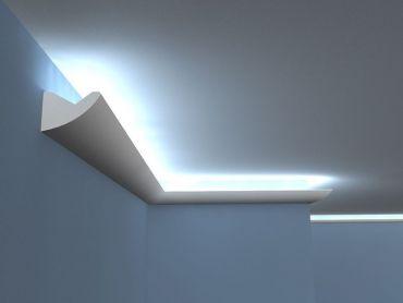 Stuckleisten LED - Lichtleisten für indirekte Beleuchtung Profile