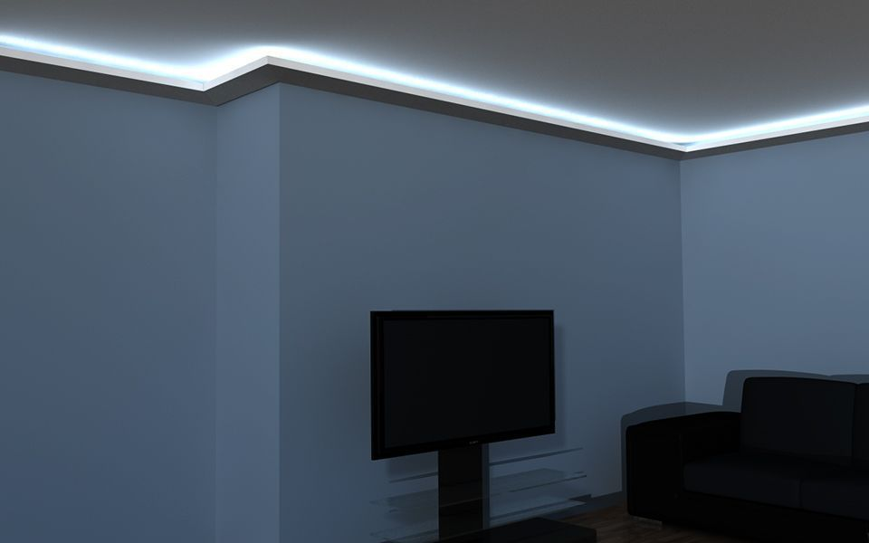 led stuck lo8 lichtleiste wand. Black Bedroom Furniture Sets. Home Design Ideas