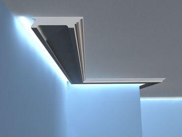 led deckenleiste lo27 zweiseitige led beleuchtung. Black Bedroom Furniture Sets. Home Design Ideas