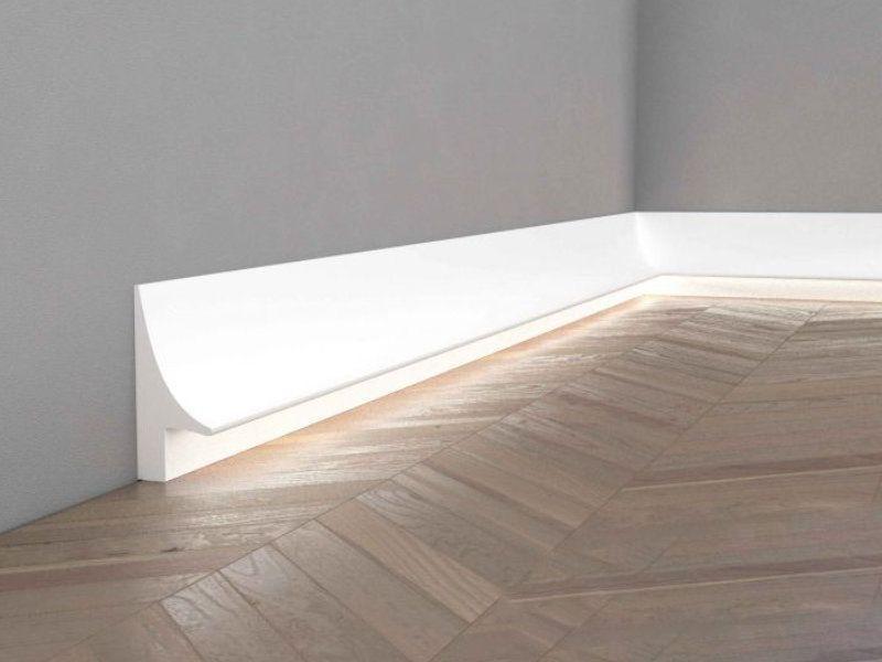 sockelleisten wei mit led ql007 stuckleiste boden. Black Bedroom Furniture Sets. Home Design Ideas