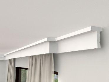 gardinenschiene mit blende gardinenleiste mit led. Black Bedroom Furniture Sets. Home Design Ideas