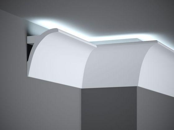led stuckleiste ql011 led profil. Black Bedroom Furniture Sets. Home Design Ideas
